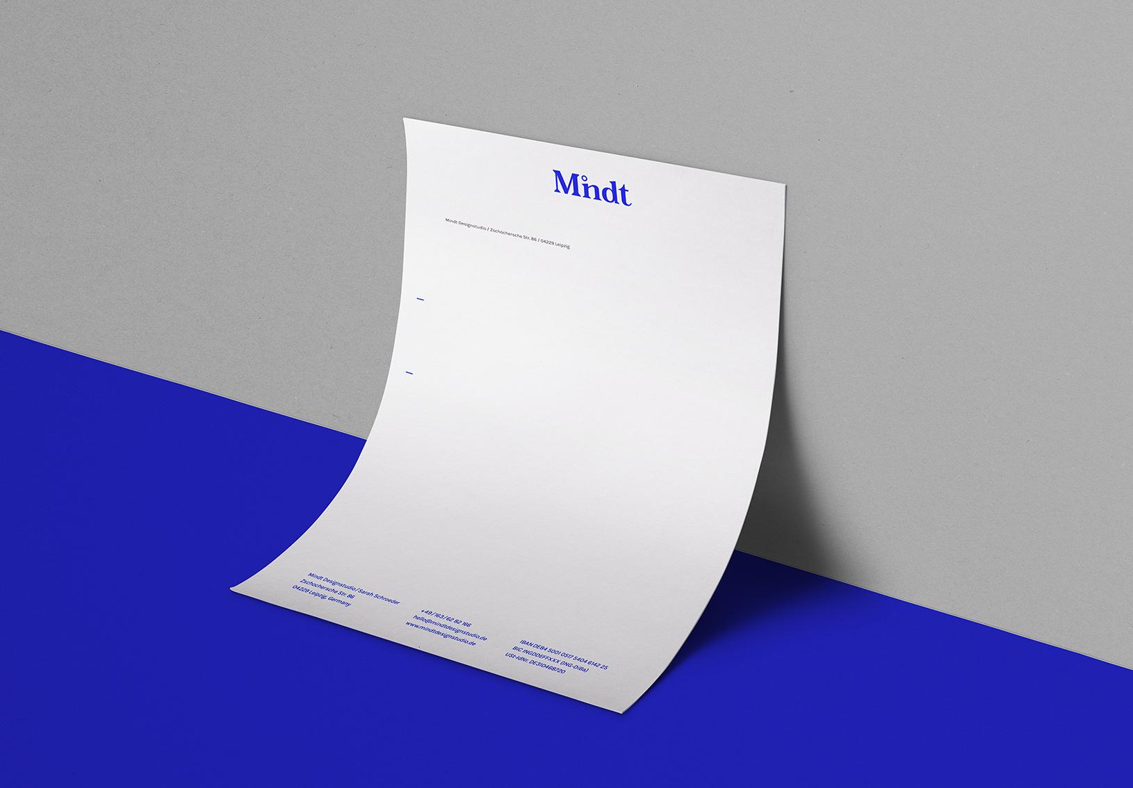 Briefbogen Briefpapier Mindt