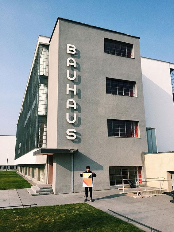 Circles Poster im Designshop Bauhaus Dessau