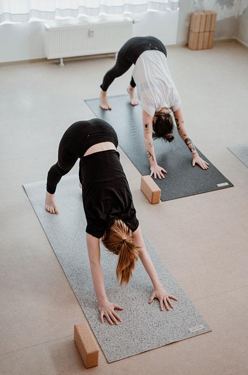 Vinyasa Kurs im Mindt Yoga Studio Leipzig