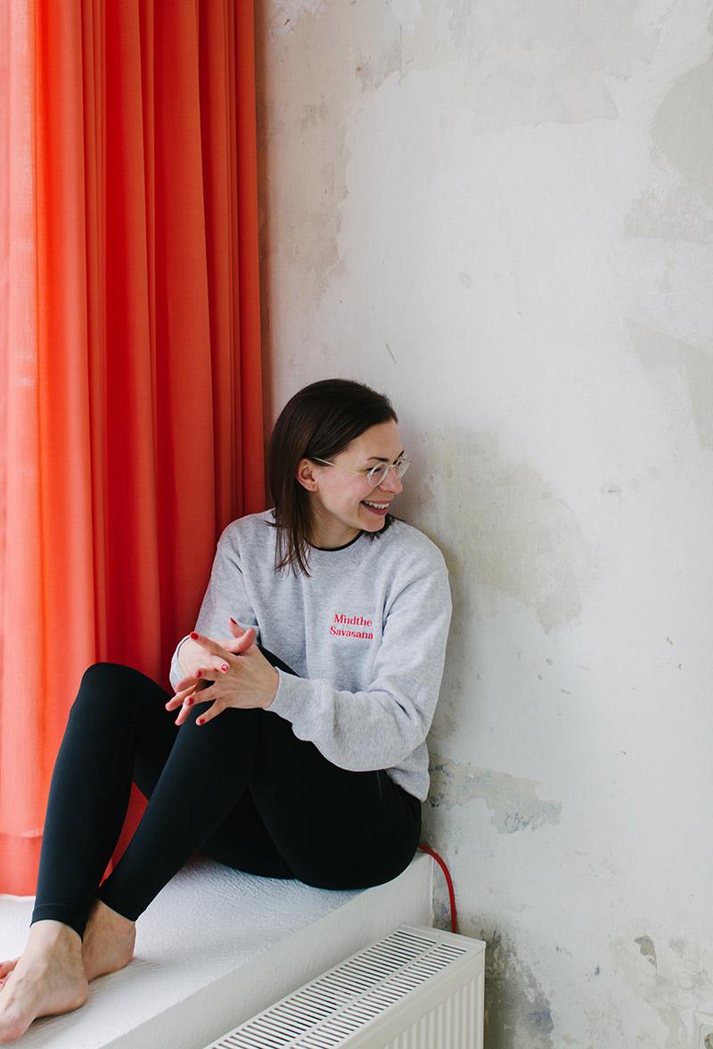 Sarah vom Mindt Yoga + Design Studio
