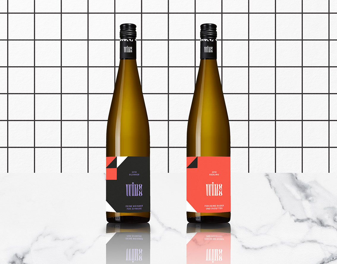 wine – Wein Packaging Branding Design