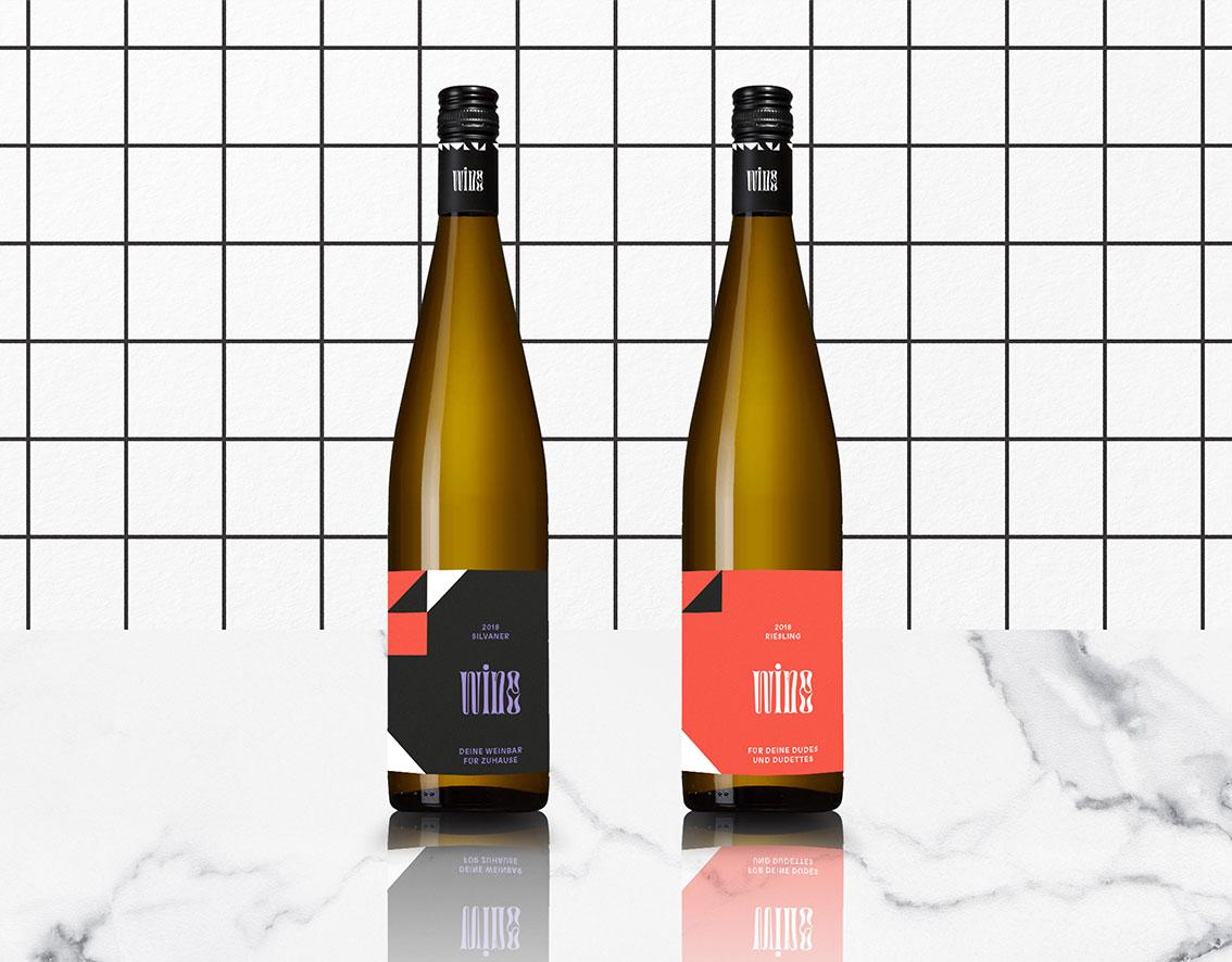 wine – Wein Packaging Branding Design