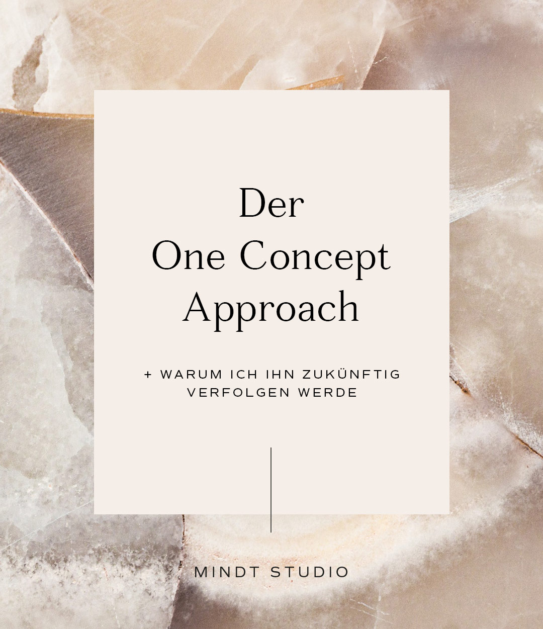 Der One Concept Approach