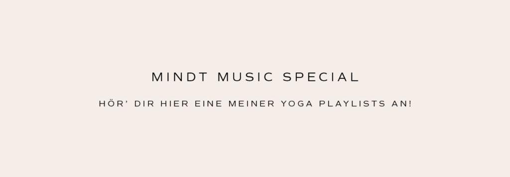 Hör' dir hier eine meiner Yoga Playlists über Spotify an!