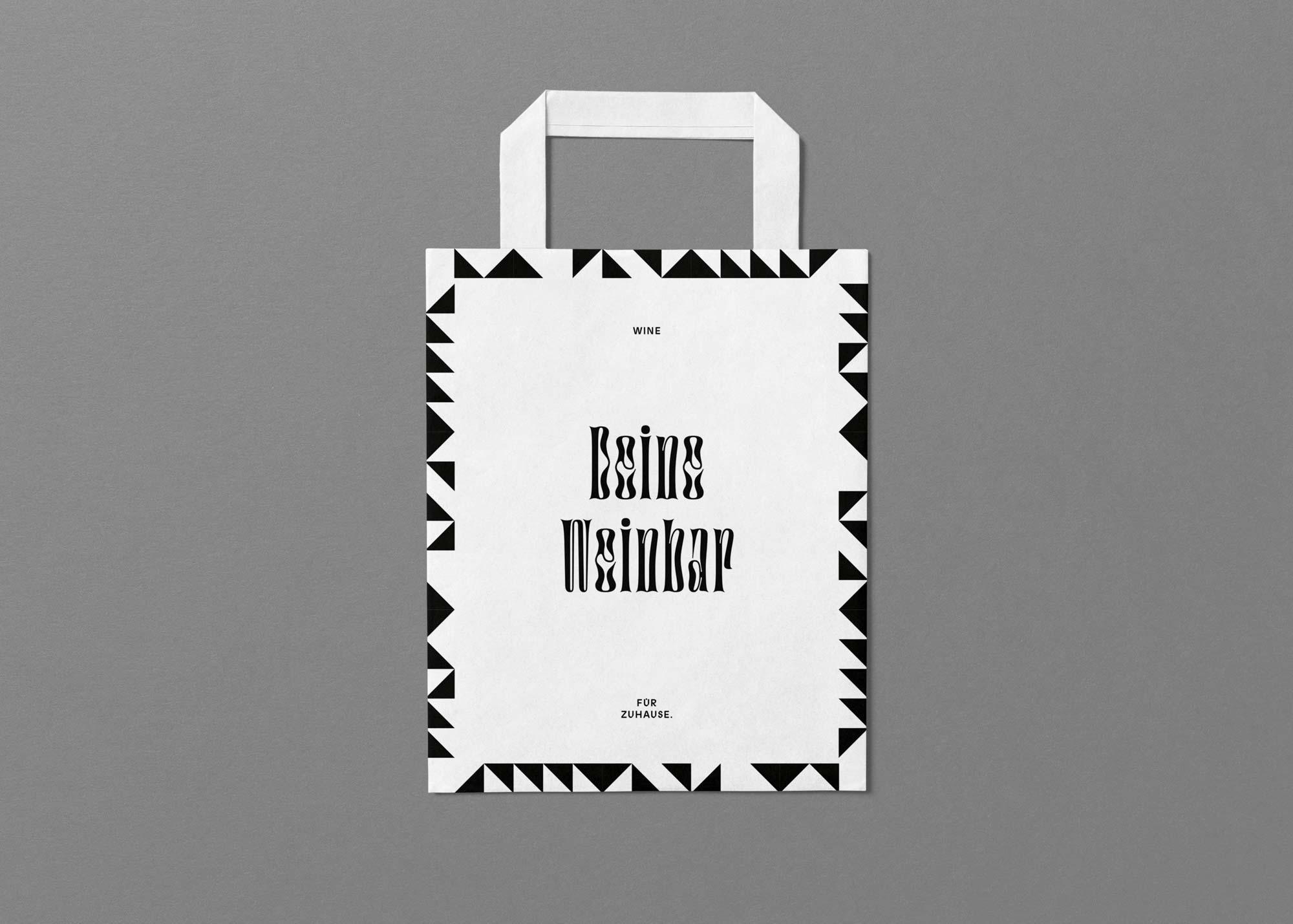 Mindt Design Studio Wine Packaging Bag