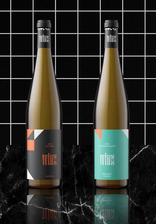 Mindt Design Studio Wine Packaging