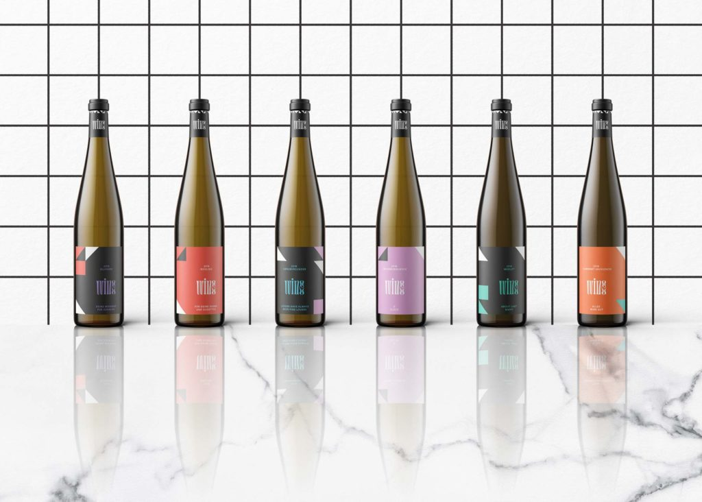 Mindt Design Studio Wine Packaging Linie 1