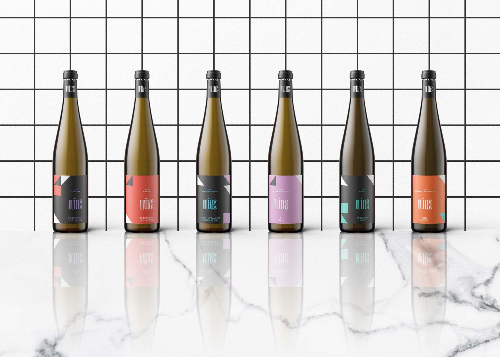 Mindt Design Studio Wine Packaging Linie 1