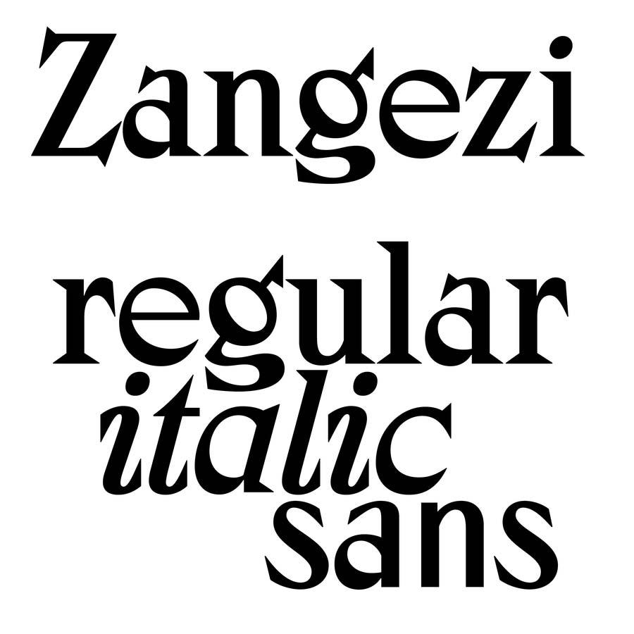 Zangesi by Daria Petrova – Schriften für Wellness und Lifestyle Brands