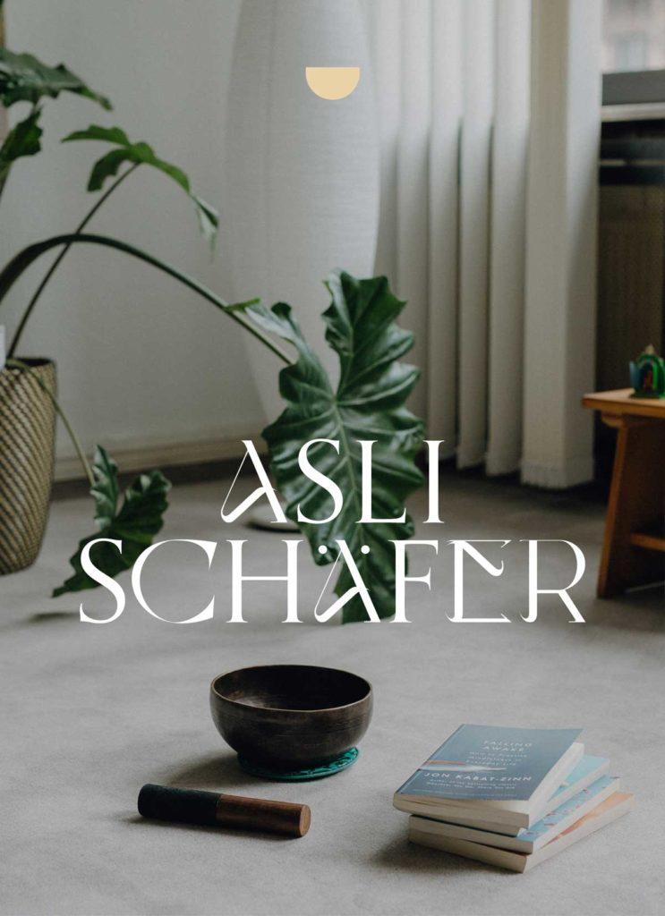 Asli Schaefer MBSR Lehrerin Branding by Mindt Design Studio