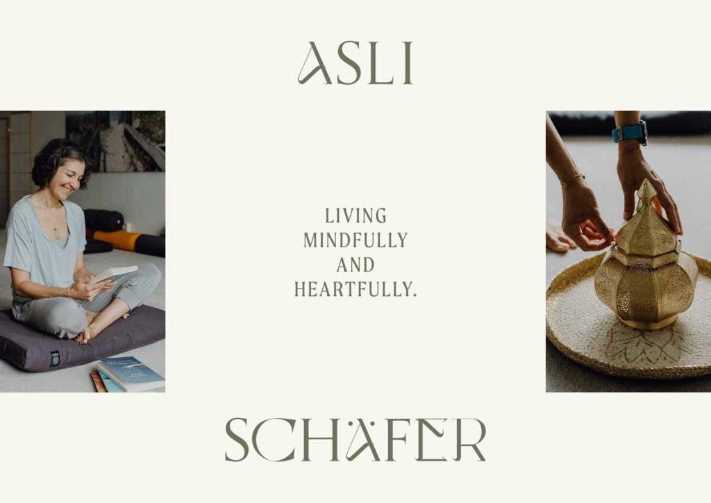 Asli Schaefer MBSR Lehrerin Branding by Mindt