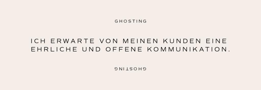 Ghosting vs. ehrliche und offene Kommunikation