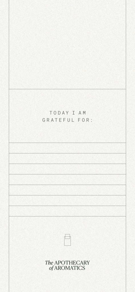 Wellbeing Reminder: Grateful For ... – by Mindt Design Studio