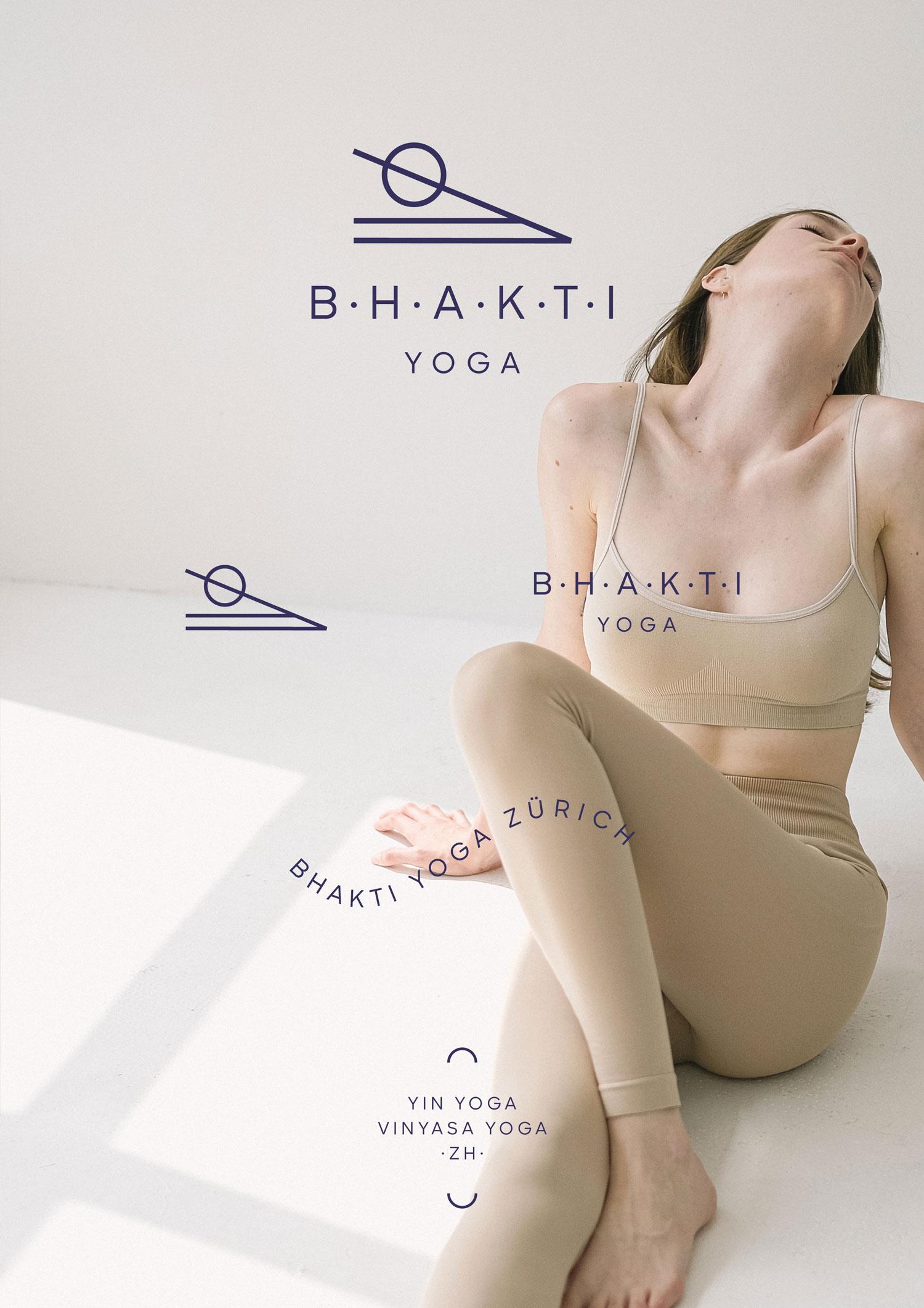 Bhakti Yoga Branding + Logo Suite by Mindt