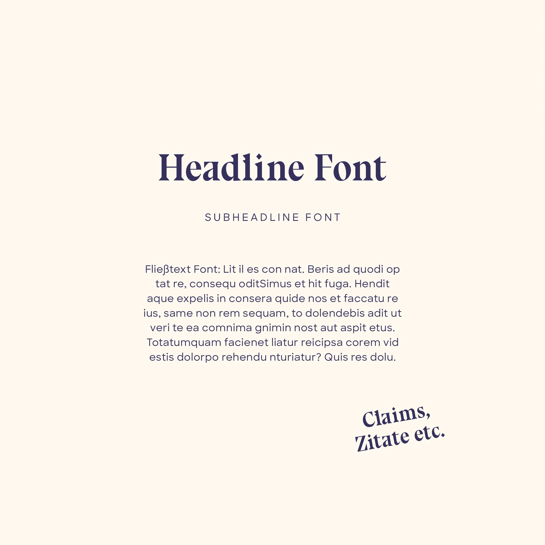 Brand Identity Fonts by Mindt