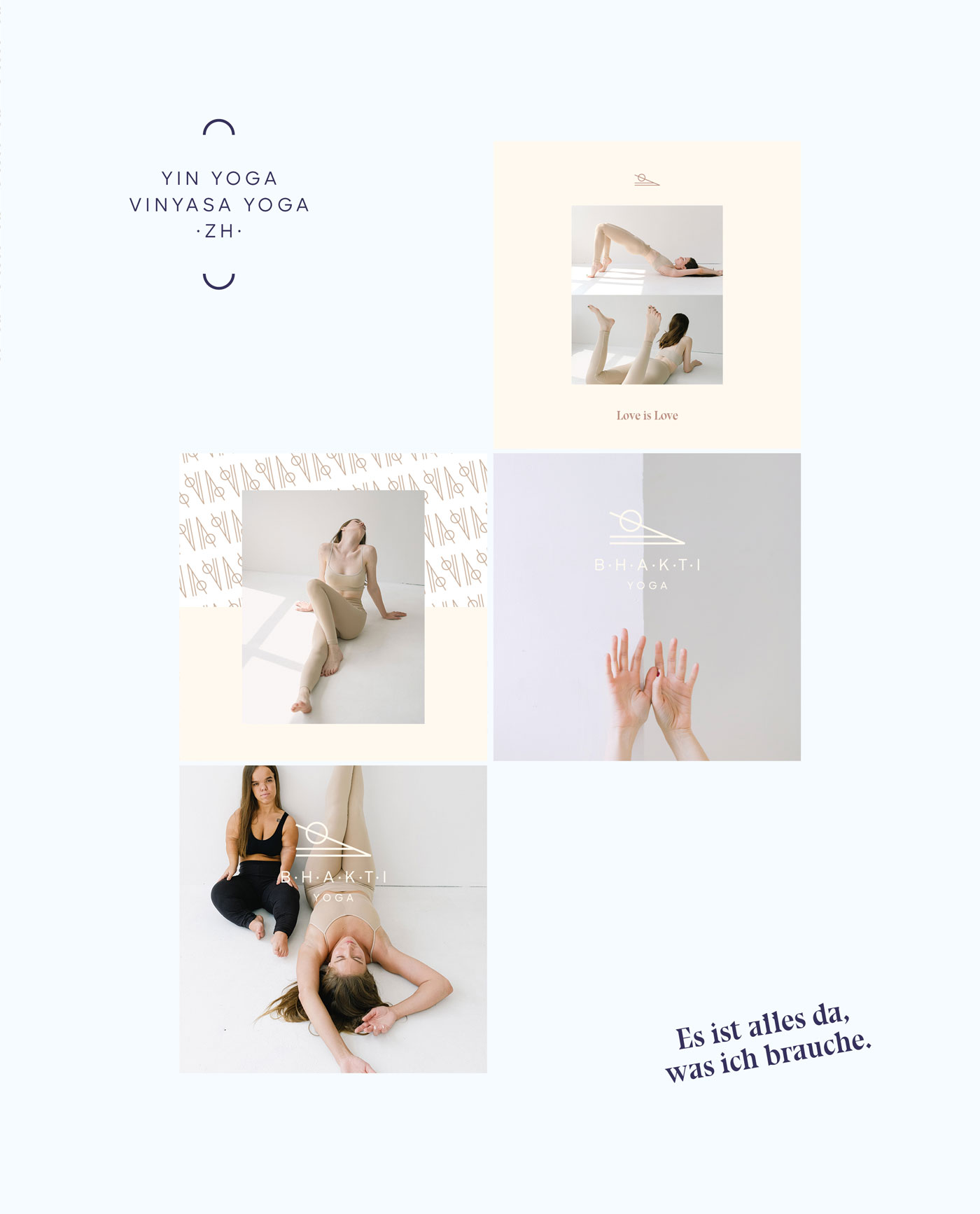 Bhakti Yoga Instagram Templates by Mindt