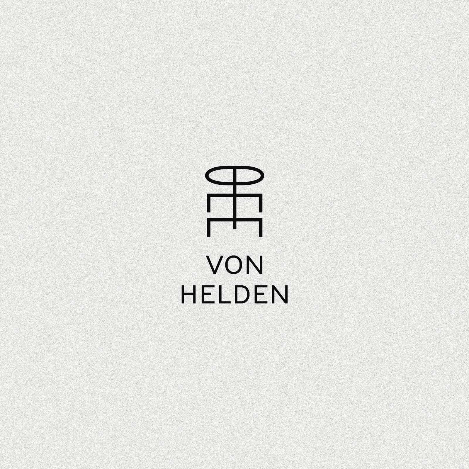 Pierre von Helden Artist Brand Identity – Logo