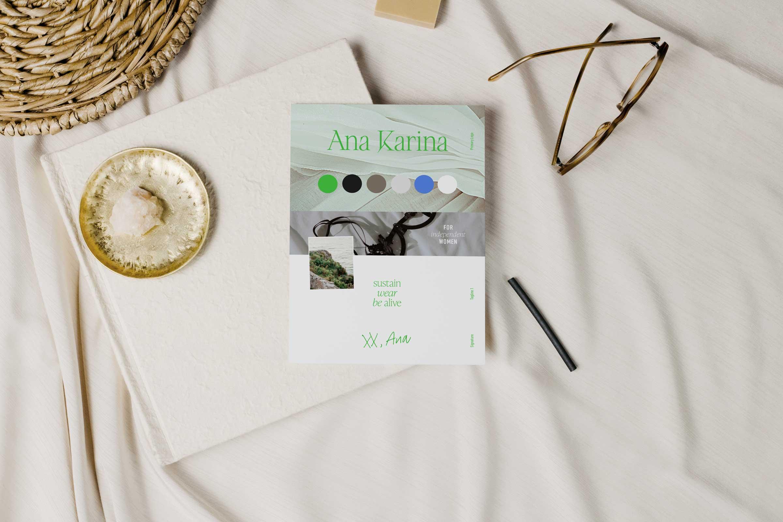 Ana Karina Sustainable Fashion Brand Kit – Brand Board