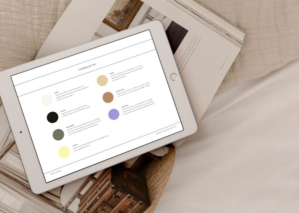 Was ist ein Brand Style Guide? – Farbpalette
