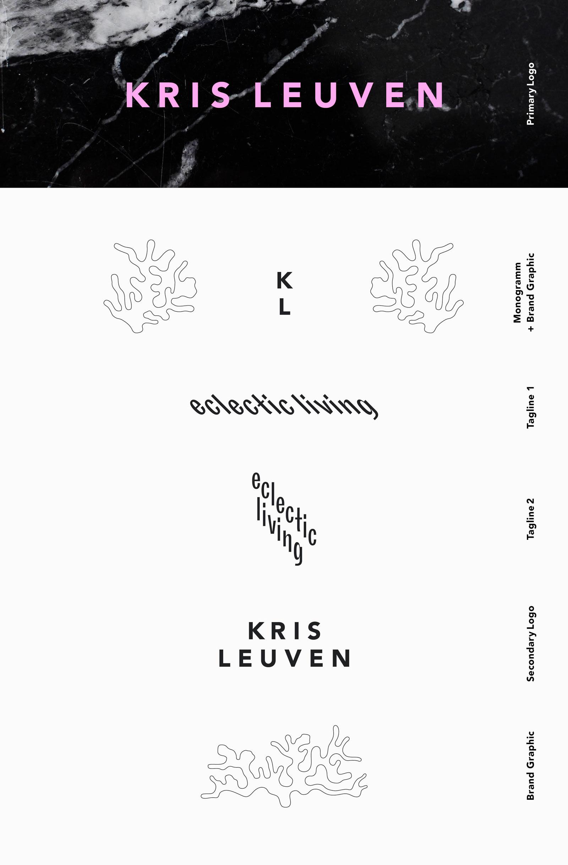 Kris Leuven Interior Designer | Brandind + Logo Suite