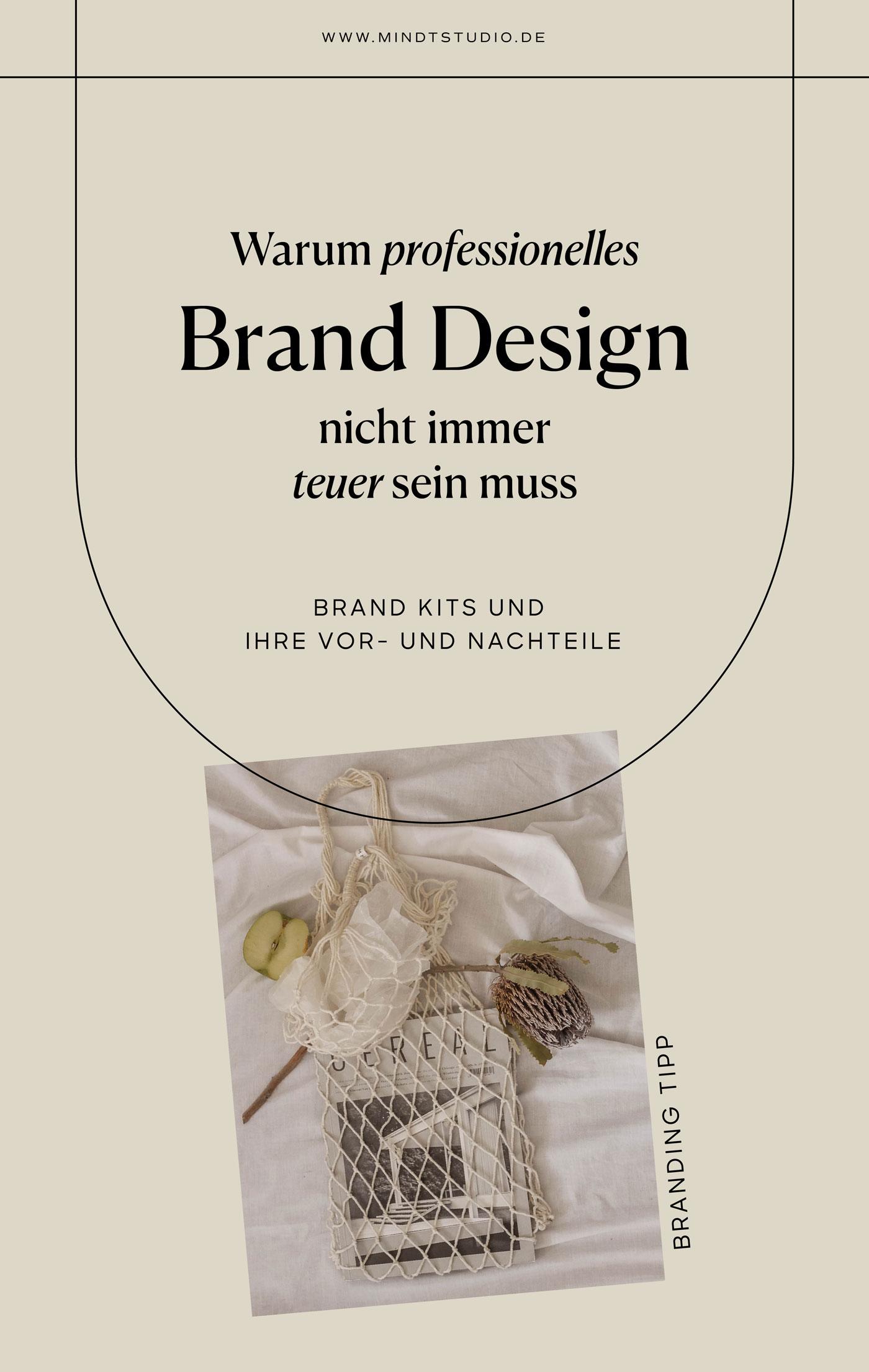 Professionelles Brand Design – Mindt Design Studio