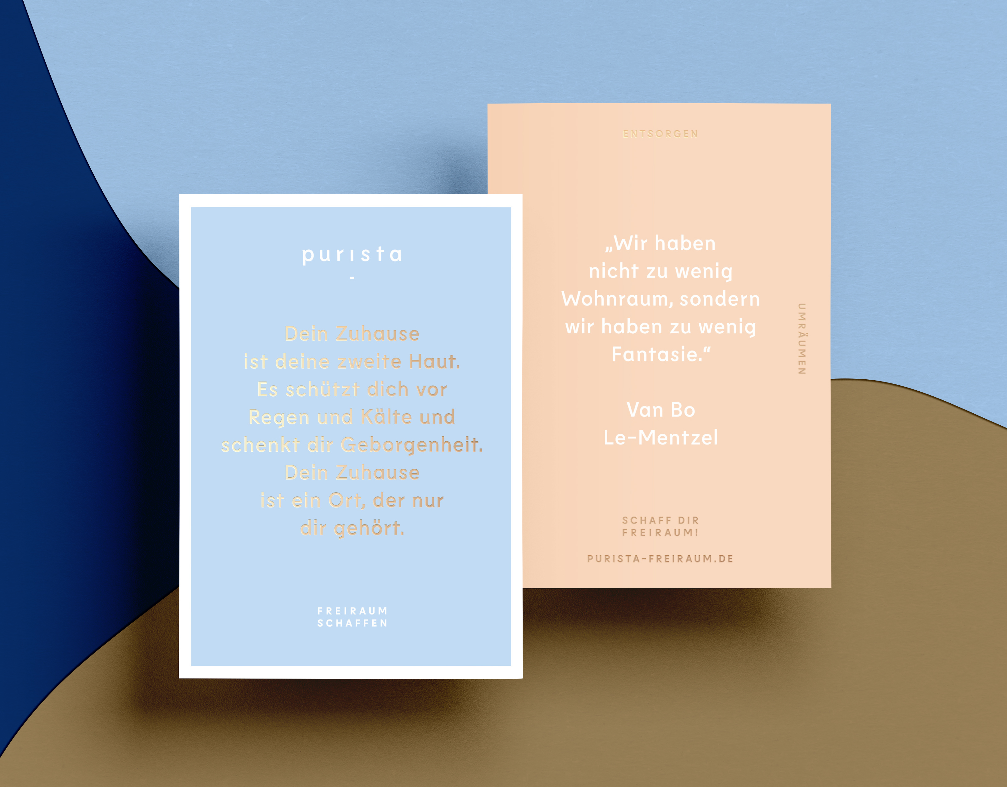 purista – freiraum schaffen